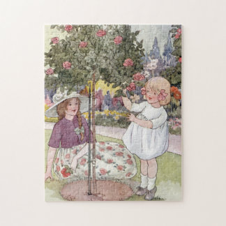 Summer Roses by Anne Anderson Jigsaw Puzzle
