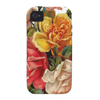 Summer Roses Vibe iPhone 4 Case