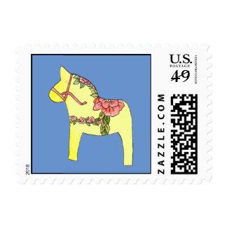 Summer Roses Postage Stamp