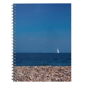 Summer Sailing Spiral Note Book