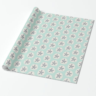 Summer Sand Dollar Wrapping Paper