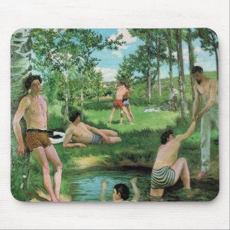 Summer Scene, Frederick Bazille Mousepad