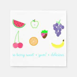 Summer Scents Disposable Napkins
