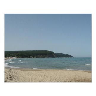Summer sea coast Photo