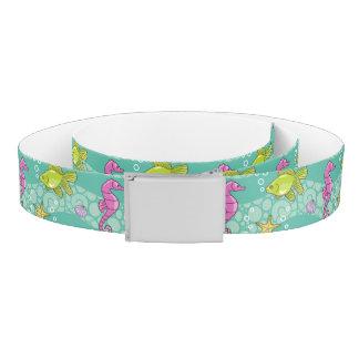 Summer Sea Pattern Belt