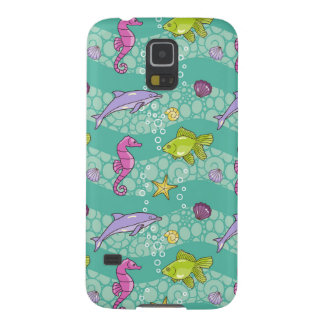 Summer Sea Pattern Galaxy S5 Case