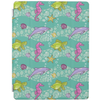 Summer Sea Pattern iPad Cover