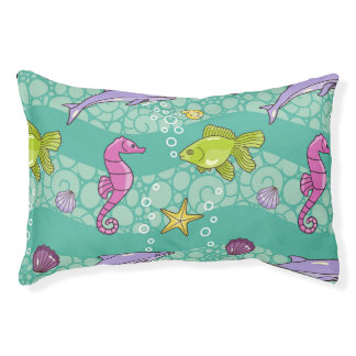 Summer Sea Pattern Pet Bed