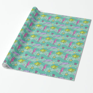 Summer Sea Pattern Wrapping Paper