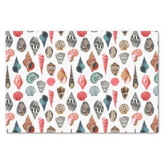 Summer Seashell Shell Nautical / Andrea Lauren Tissue Paper