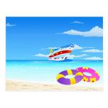 Summer Seaside Post Cards