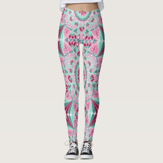 Summer Season Mandala Leggings