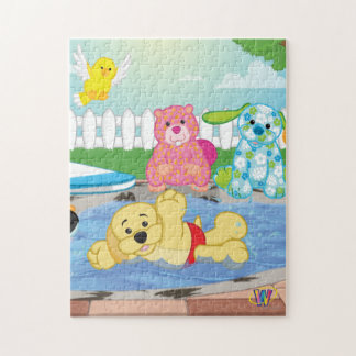 Summer Sensation Pool Jigsaw Puzzle