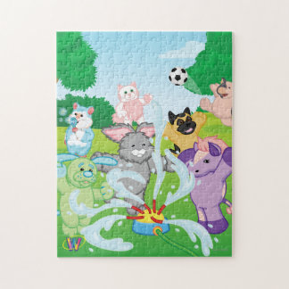 Summer Sensation Sprinkler Jigsaw Puzzle