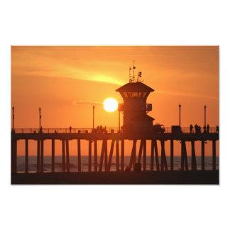 Summer September Sunset Photo Print