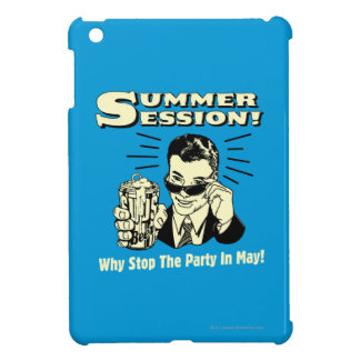 Summer Session: Why Stop the Party iPad Mini Cases