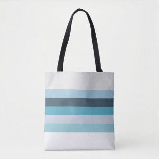 Summer Shades of Blue Tote Bag