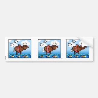 summer sheep scrapbook stickers bumper sticker