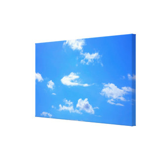 summer sky canvas print