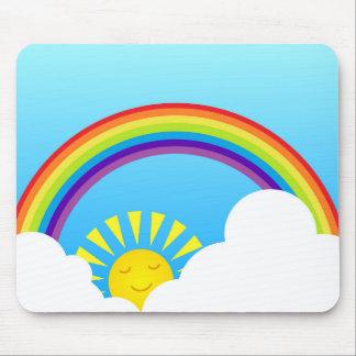 Summer sky mousepads