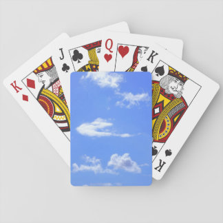 summer sky playing cards