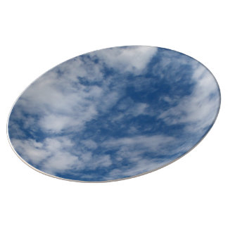 Summer Sky Porcelain Plate