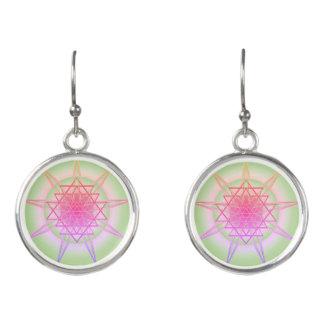 Summer Solstice Mandala Earrings