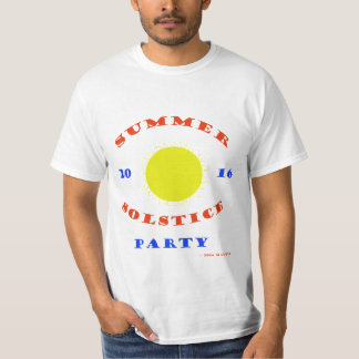 summer solstice party 2016 T-Shirt
