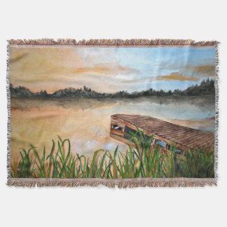 Summer Solstice - Throw Blanket