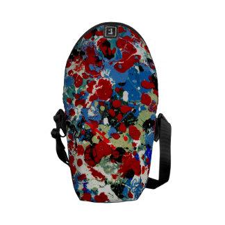 SUMMER SPLASH! (an abstract art design) ~ Commuter Bags
