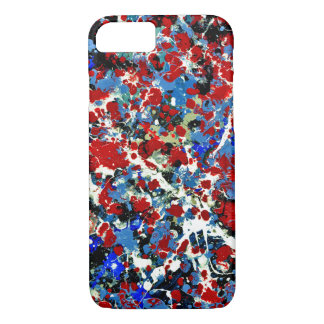 SUMMER SPLASH! (an abstract art design) ~ iPhone 7 Case