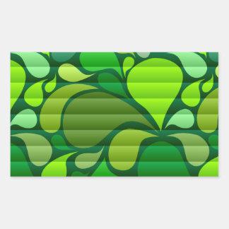 Summer Splash Rectangle Sticker