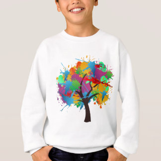 Summer splash tree sweatshirt