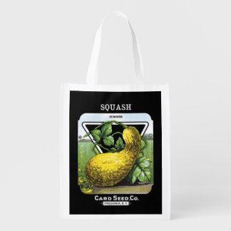 Summer Squash Reusable Bag