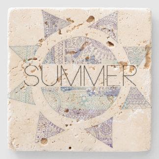 Summer Stone Coaster