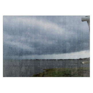 Summer Storm Clouds Cutting Board