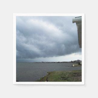 Summer Storm Clouds Paper Napkin