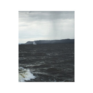 Summer Storm Sail Canvas Print