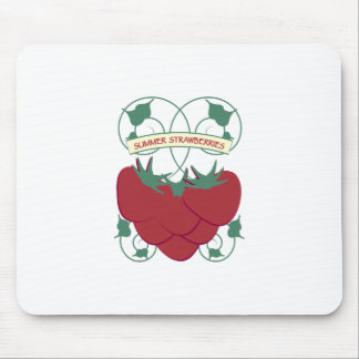 Summer Strawberries Mouse Pads