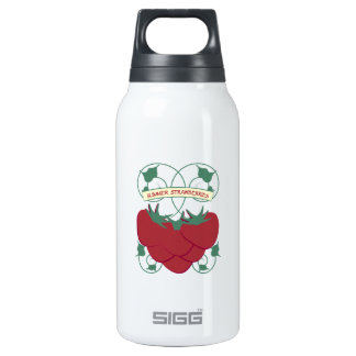 Summer Strawberries 10 Oz Insulated SIGG Thermos Water Bottle