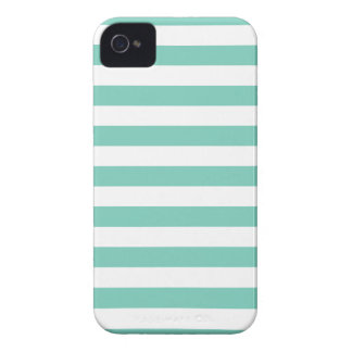 Summer Stripes Cockatoo Turquoise Iphone 4/4S Case