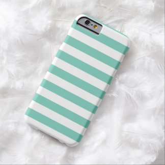 Summer Stripes Cockatoo Turquoise iPhone 6 case