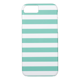 Summer Stripes Cockatoo Turquoise iPhone 7 case