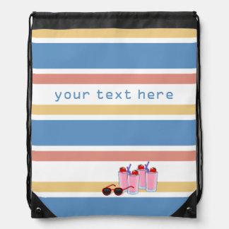 Summer Stripes custom bag