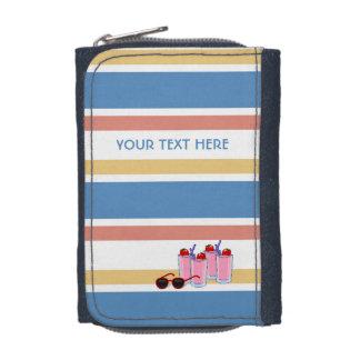 Summer Stripes custom wallets