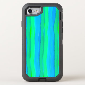 Summer Stripes OtterBox Defender iPhone 7 Case
