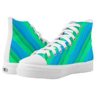 Summer Stripes Printed Shoes