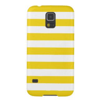 Summer Stripes Samsung Galaxy S5 Case in Lemon