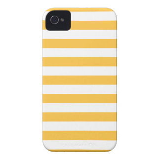 Summer Stripes Solar Yellow Iphone 4/4S Case