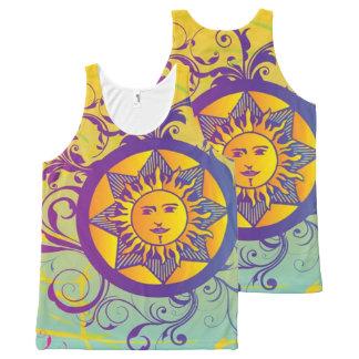summer sun All-Over print tank top